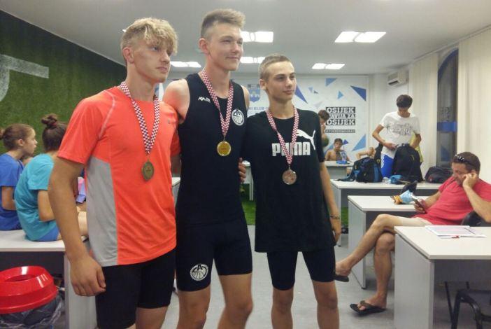 Tvrtko Štefančić osvojio dvije srebrne medalje na državnom prvenstvu