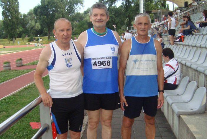 Medalje za atletičare - veterane na državnom prvenstvu u Zagrebu