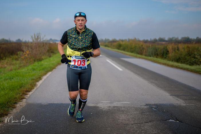 Krešimir Šimić istrčao prvu dionicu ultramaratona Zagreb - Vukovar!
