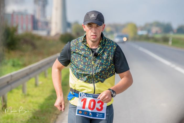 Krešimir Šimić odlično istrčao drugu dionicu u dužini 72 km
