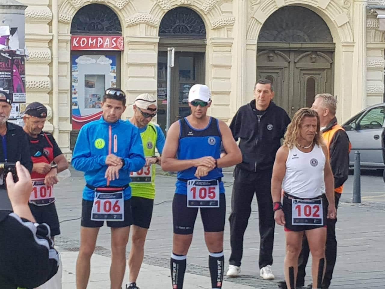 Krešimir Šimić Šima i Antonio Arbanas nastavljaju ultramaraton