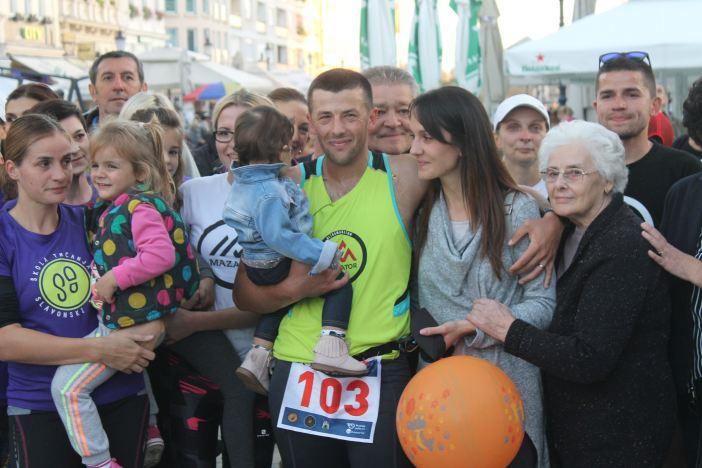 Krešimir Šimić savladao i treću, najtežu dionicu ultramaratona Zagreb - Vukovar