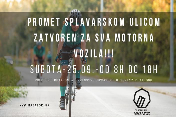 Polojski duatlon – Prvenstvo Hrvatske u sprint duatlonu