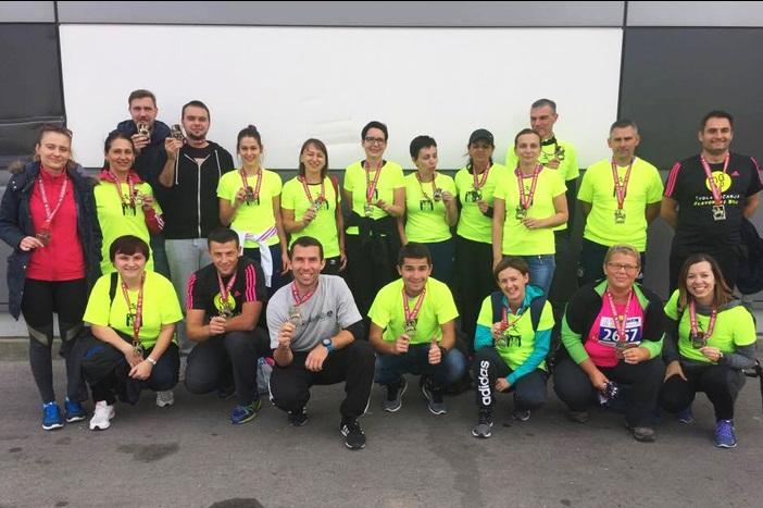 Polaznici brodske Škole trčanja prvi put na Zagrebačkom maratonu
