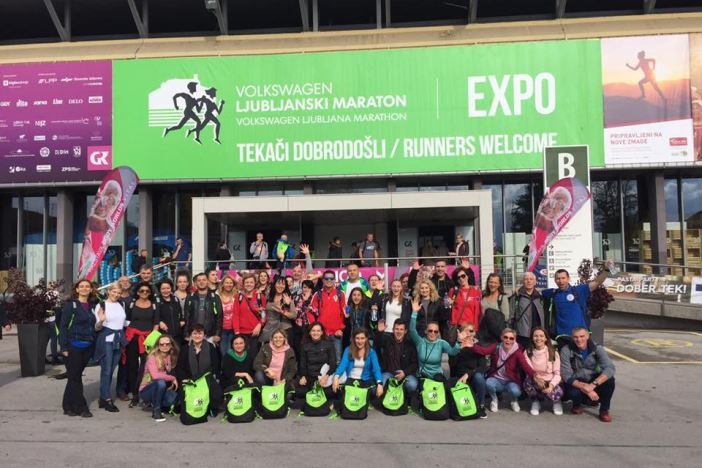 Osamdesetak Brođana, članova Saucony akademije trčanja, sudjelovalo na Ljubljaskom maratonu
