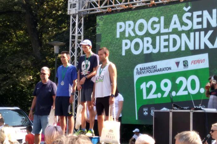 Sjajan uspjeh Zrinoslava Kekeza i Ines Jozić na 5. Baranjskom Ferivi polumaratonu