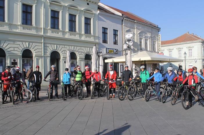 Održano 11. Božićno brdsko bicikliranje BK Festung