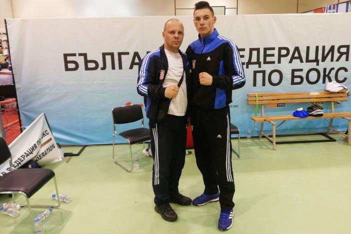 Gabrijel Veočić u finalu jakog međunarodnog boksačkog turnira u Bugarskoj.