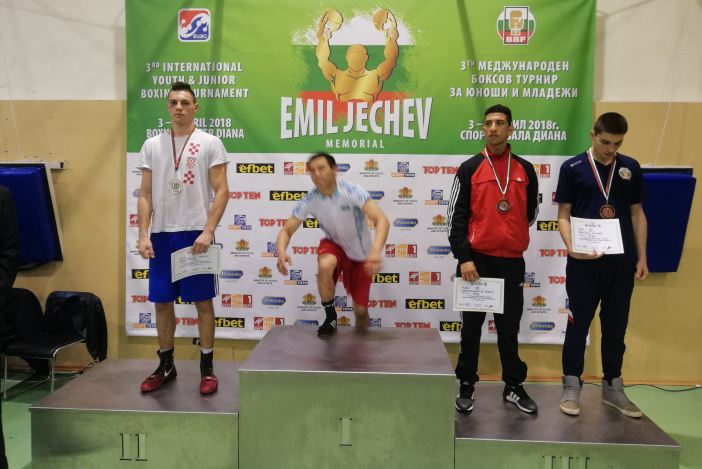 Veočiću finale na jakom boksačkom turniru u Bugarskoj