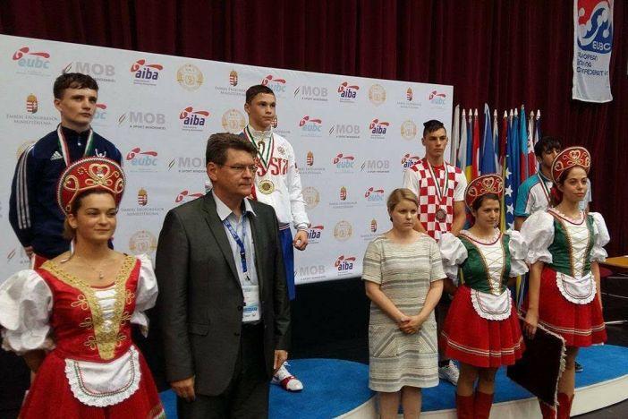 Gabrijel Veočić treći na Europskom prvenstvu