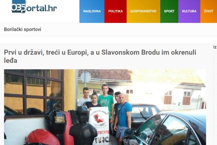 Grad Slavonski Brod reagirao na članak 035 portala o zapostavljenim uspješnim brodskim boksačima