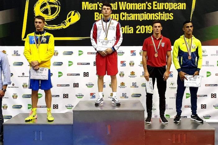 Gabrijel Veočić brončani na Europskom prvenstvu