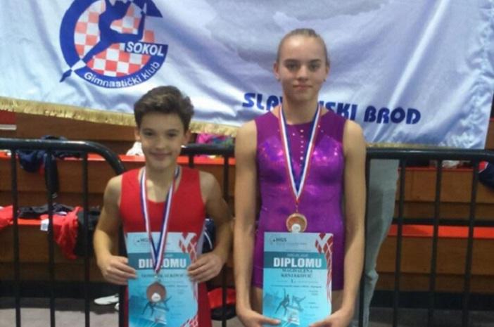 Juniorka Magdalena Krnjaković postala državna prvakinja u gimnastici