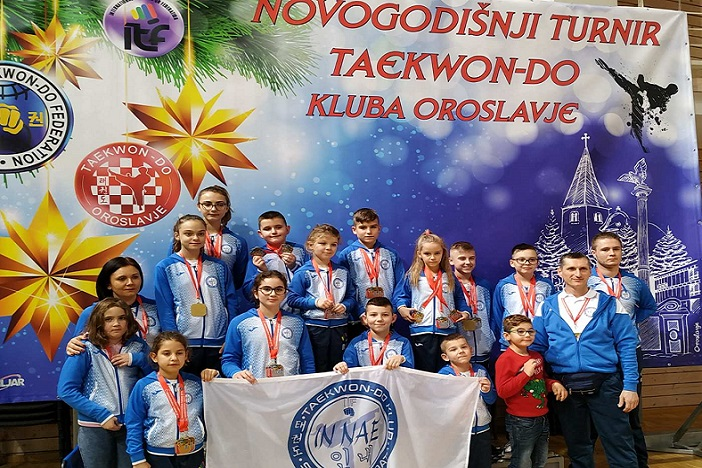 Unatoč jakoj konkurenciji odličan rezultat ITF taekwon-do kluba In-Nae na turniru u Donjoj Stubici