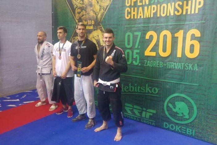 Mateo Brekalo srebrni na 10.otvorenom prvenstvu Hrvatske u brazilskom jiu jitsu