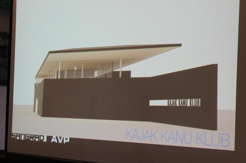 Predstavljeno idejno rješenje izgradnje novih prostora za brodske kajak kanu klubove
