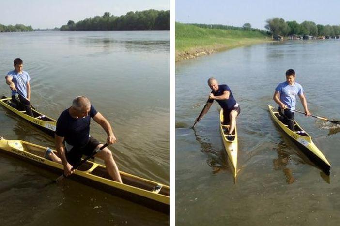 Sin i tata Erceg istoga su dana postali državni prvaci u kanuu