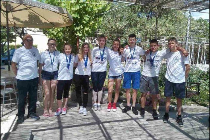 Prva utrka Kupa RH – zlatni Inga, Lana i Darko