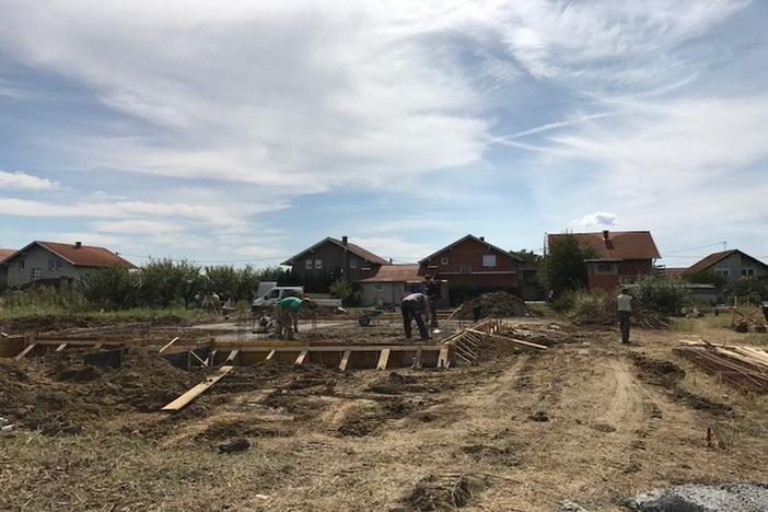 Mlade obitelji započele s izgradnjom kuća na gradskim zemljištima