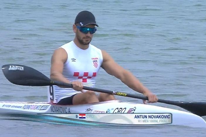 Antun Novaković 7. kajakaš svijeta na 1000 metara