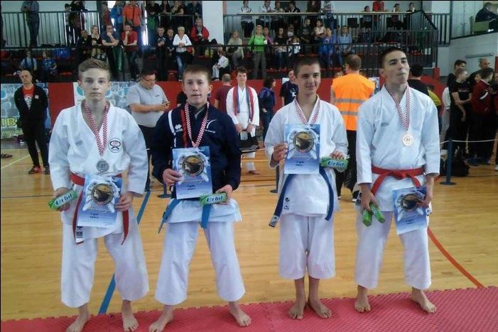Mihael Ećimović prvi na 18. Memorijalnom karate kupu Zagreb 2017.
