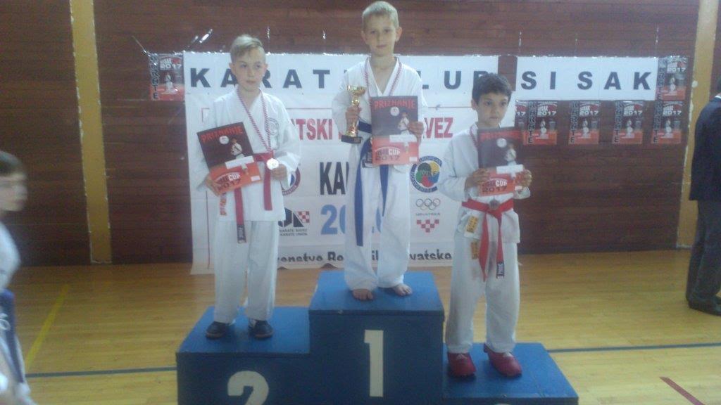 Šest medalja za brodske karataše na najstarijem karate natjecanju u Hrvatskoj
