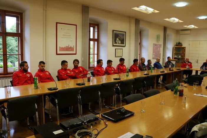 Hrvatske futsal reprezentacija na pripremama u Slavonskom Brod