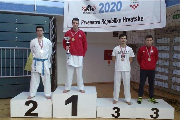 Borna Mađarević treći na seniorskom Prvenstvu Hrvatske