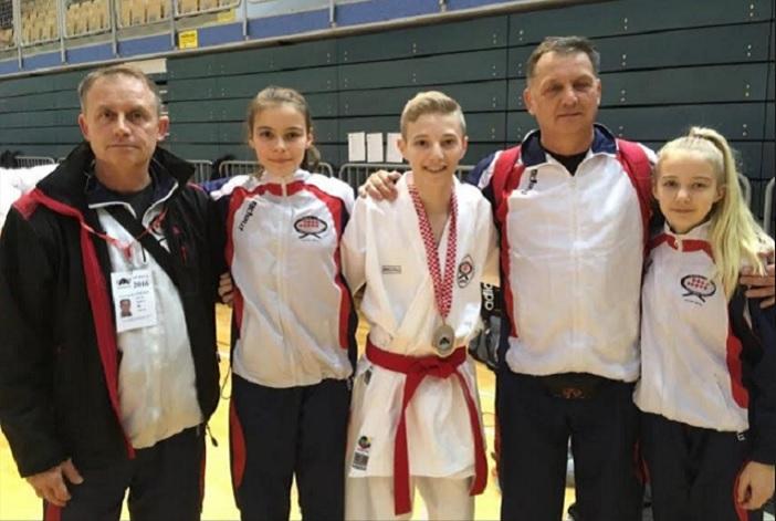 Mihael Ećimović  drugi na prvenstvu Hrvatske za kadete u katama