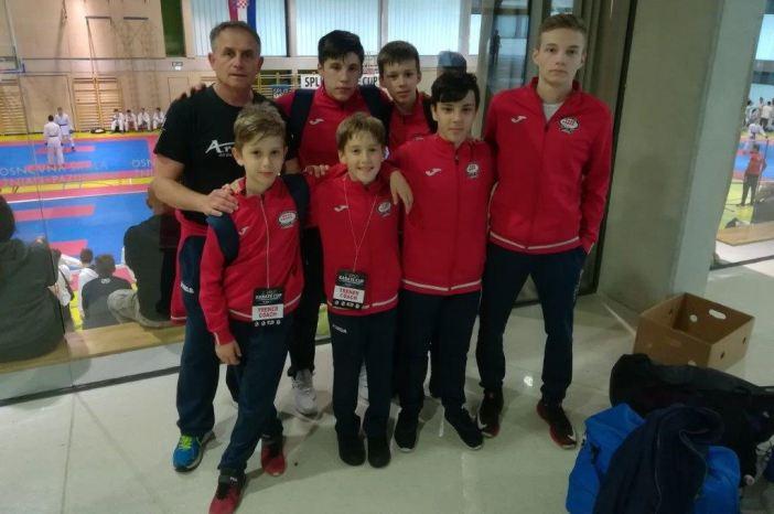 Mihael, Borna, Nikola i Antonio zlatni u Splitu