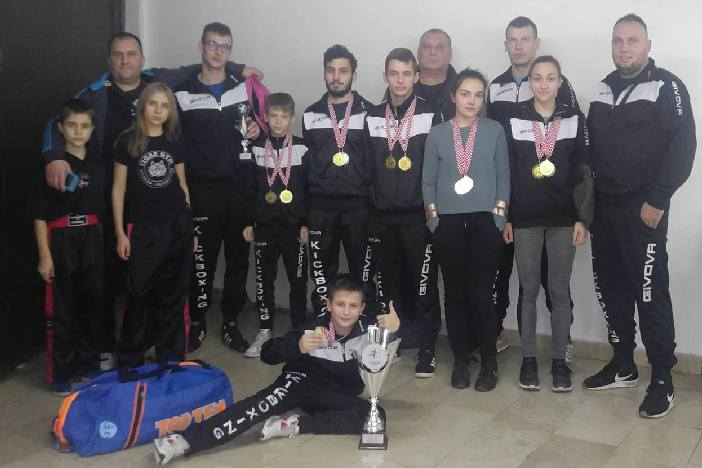 Tigar-Brod ponovo najbolji hrvatski klub u light contactu