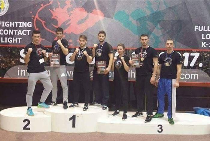 Šest medalja za Brođane na kickboxing natjecanju u Sarajevu