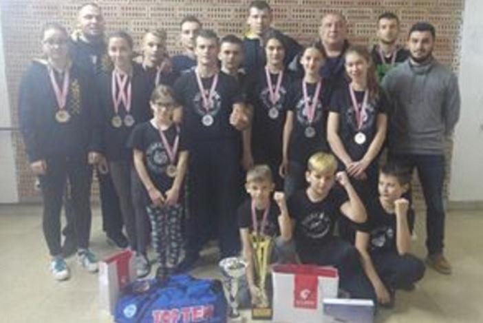 """Kickboxing klub """"Tigar Brod"""" - najbolji klub na na turniru CROATIA OPEN 2016"""