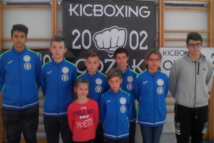 """Odlični rezultati Kickboxing kluba """"Omega"""" na turniru u Odžaku"""