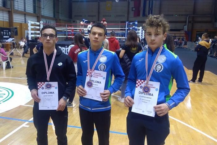 Omege uspješne u prvom krugu Prvenstva Hrvatske u kickboxingu