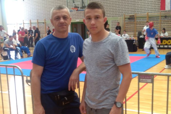 Kristijan Katušić seniorski prvak Hrvatske u light kontaktu