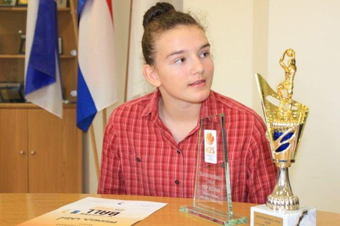 Najbolja brodska košarkašica Mihaela Lazić na pripremama reprezentacije Hrvatske
