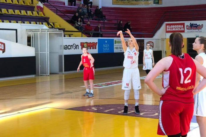 Mlada brodska košarkašica dobila poziv za juniorsku reprezentaciju