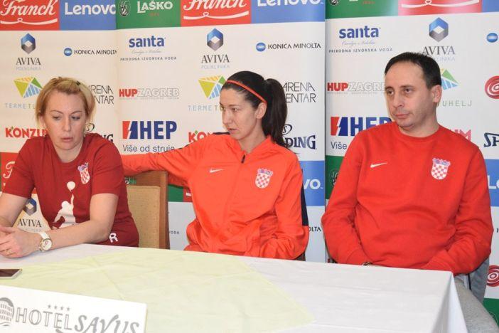 Ženska košarkaška A reprezentacija okupila se u Slavonskom Brodu