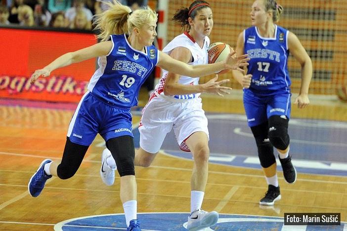Kvalifikacije za EuroBasket 2017 - Hrvatska ženska reprezentacija slavila protiv Estonije