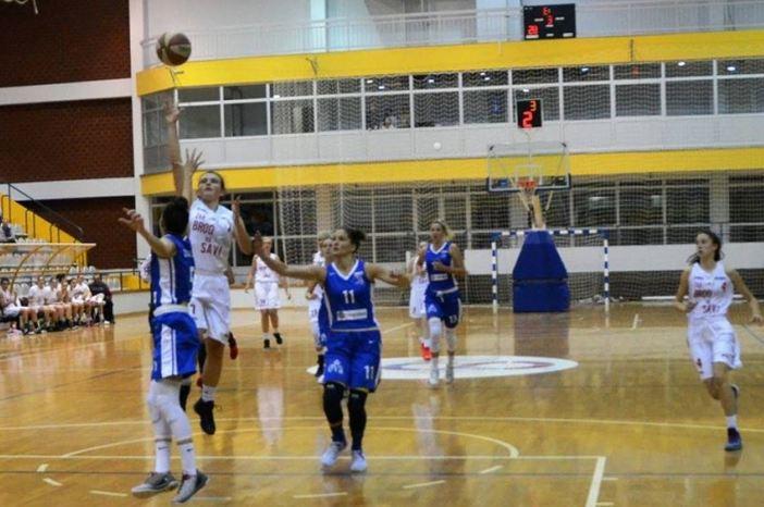 Poraz košarkašica Broda na Savi