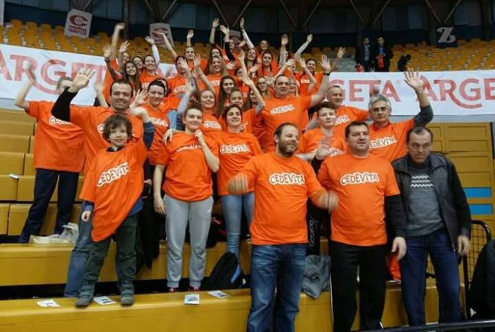 Košarkašice Broda na Savi bodrile Cedevitu protiv turske Darussafake