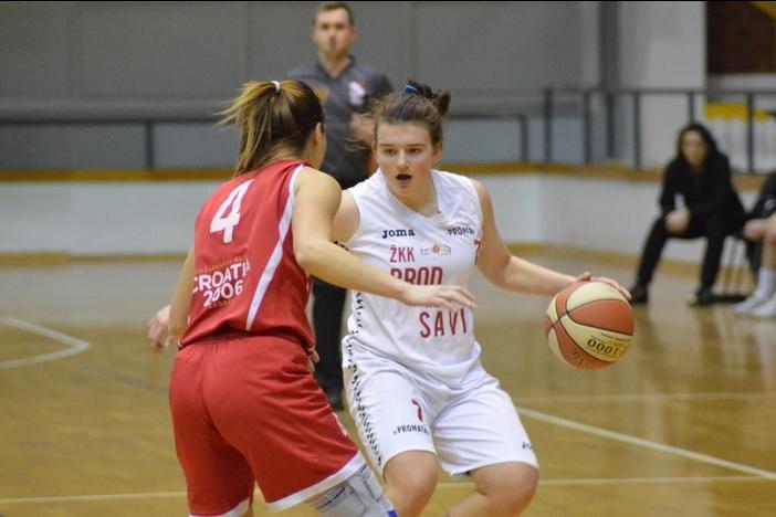 Brođanka Mihaela Lazić najbolji strijelac 1. ženske košarkaške lige
