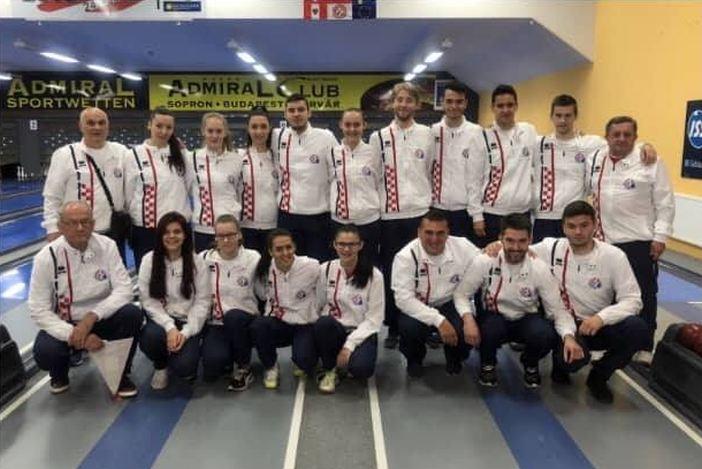 Brođanin Mihael Grivičić na pripremama za Svjetsko prvenstvo u kuglanju