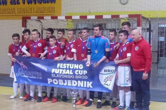 Brod 035 pobjednik 2. Croatia futsal mastersa U-15
