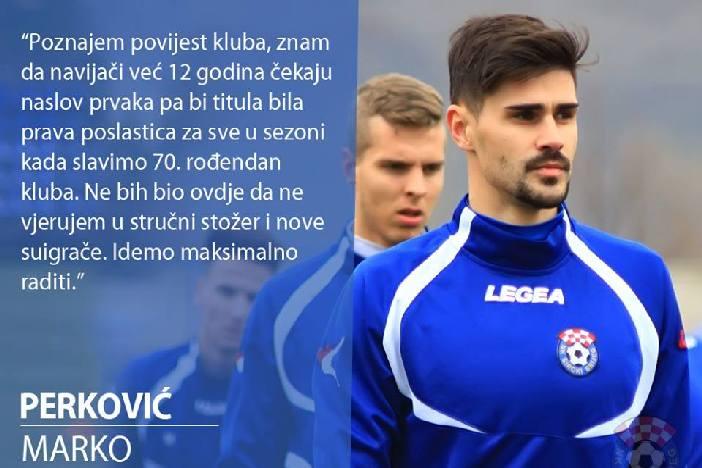 Brođanin Marko Perković novi je igrač NK Široki Brijeg