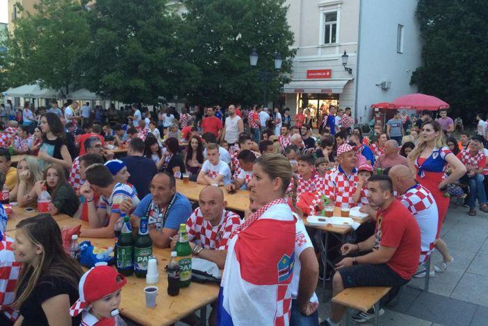 Gledanje utakmice Hrvatska - Portugal