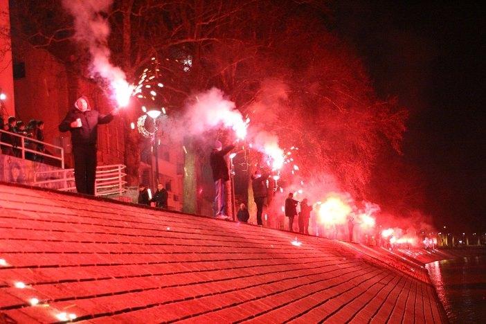 HAJDUK 106 baklji za 106. rođendan Hajduka
