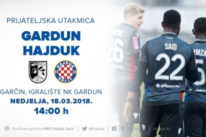 Hajduk dolazi u Garčin!