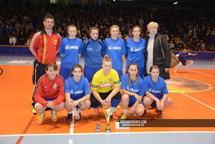 ŽNK Viktorija pobjedom na turniru u Derventi ispratila 2016. godinu